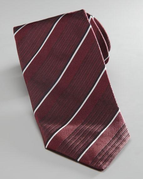 Pinstripe Silk Tie
