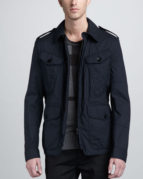 Cotton-Nylon Field Jacket