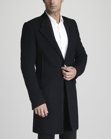 Cut-Collar Coat