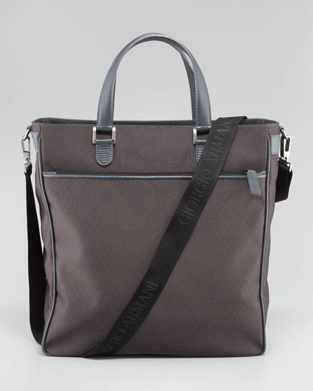 Logo-Print Crossbody Bag Shopper