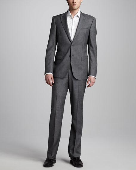 Peak-Lapel Suit