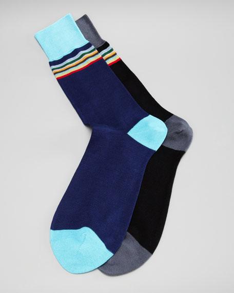 Bold Multi-Stripe Socks