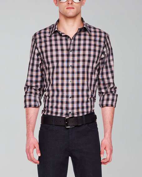 Check Tailored Shirt
