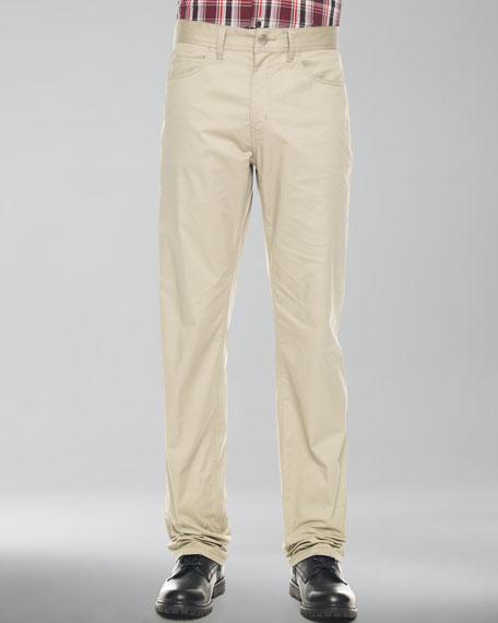Stretch Twill Jeans