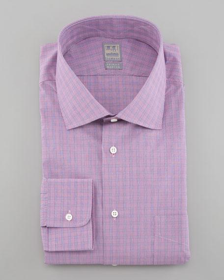 Glen Plaid Dress Shirt