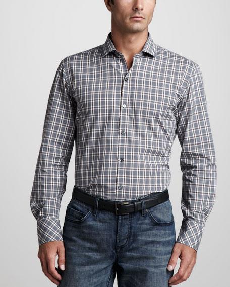 Gaiser Plaid Sport Shirt