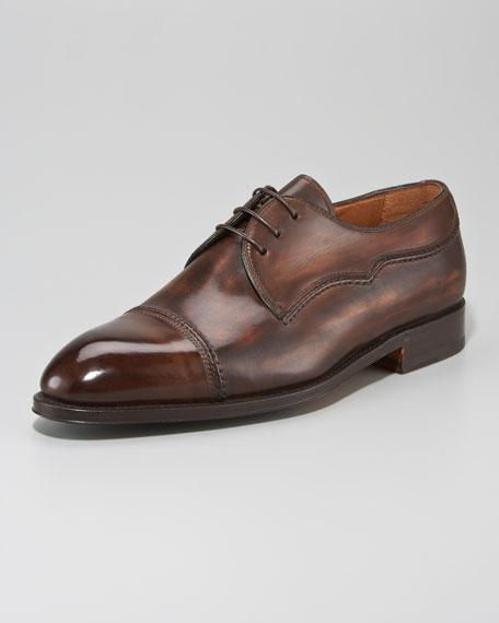 Cap-Toe Dress Shoe