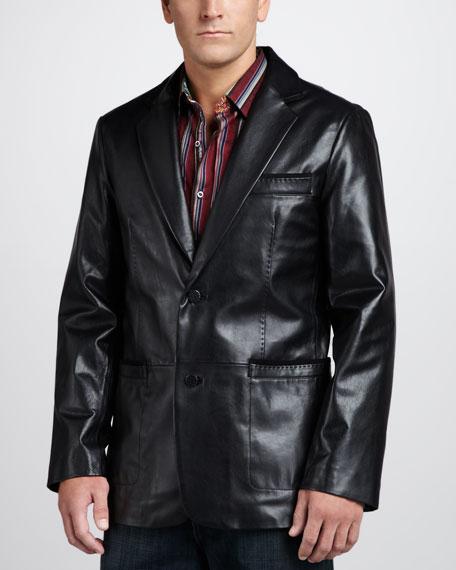 Turin Leather Sport Coat