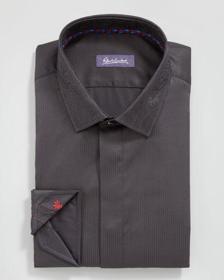 Clinton Tonal-Stripe Dress Shirt