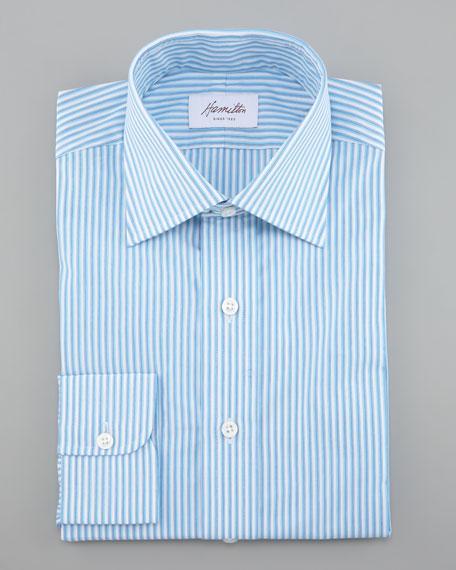 Mini-Stripe Dress Shirt