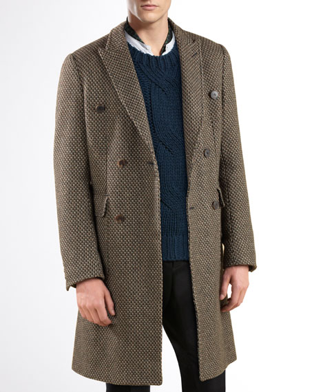 Double-Breasted Overcoat
