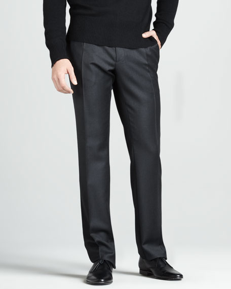 Wool Sport Trousers