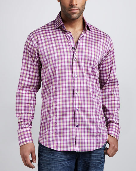 Pierre Plaid Sport Shirt