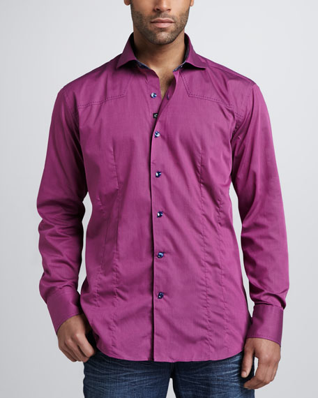 Aramis Sport Shirt, Purple