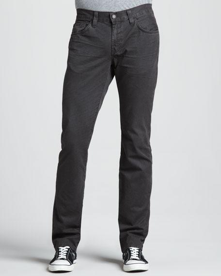 Kane Houndstooth Jeans, Rustic Battleship