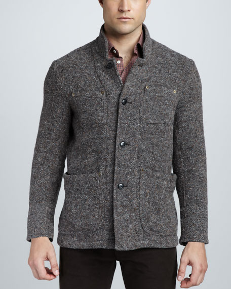 Slouchy Tweed Jacket