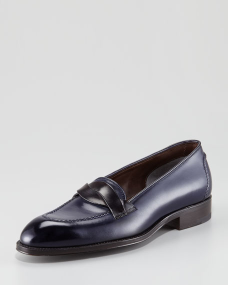 Stanford Cross-Strap Loafer