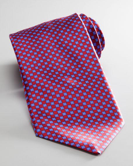 Mini Square Silk Tie