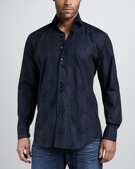 Matis Sport Shirt, Navy