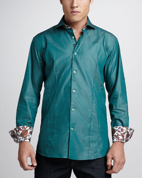 Aramis Sport Shirt, Green