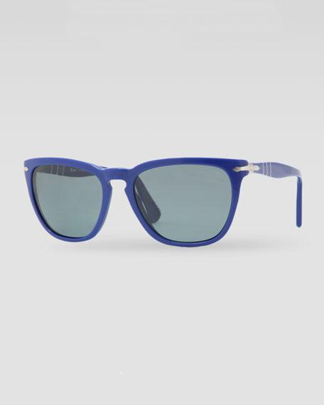 Capri Polarized Sunglasses, Blue