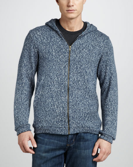 Hooded Zip Sweater