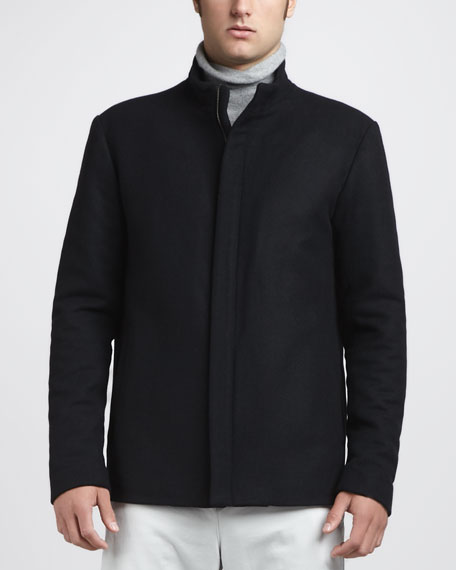 Stand-Collar Jacket