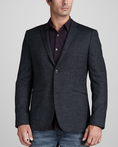 Wool-Cotton Blazer