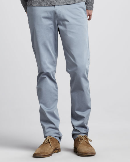 Slim Four-Pocket Pants