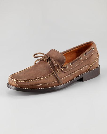 Gold Camp Boat Shoe, Dark Brown