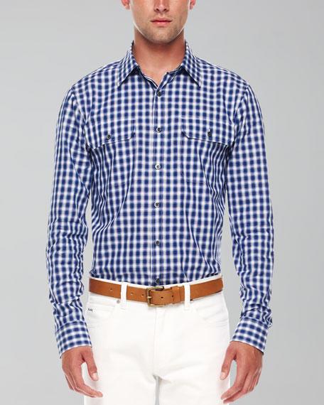Magnus Two-Pocket Check Shirt