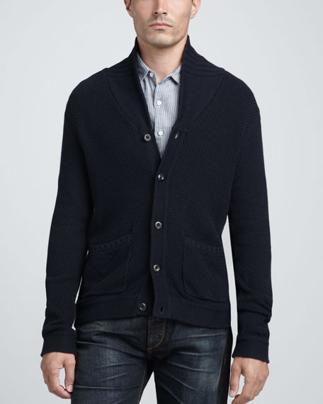 Monfort Shawl-Collar Cardigan