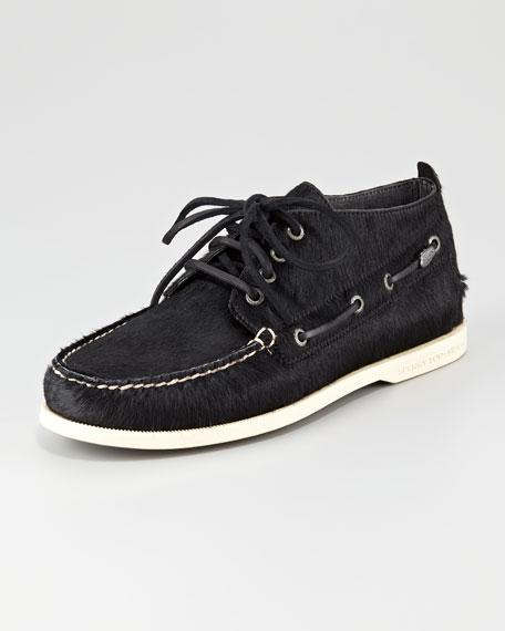 Calf-Fur Chukka Boot