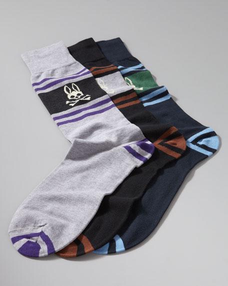 Stripe Bunny Socks