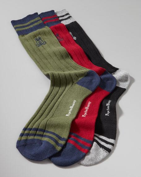 Ribbed Sport Sock