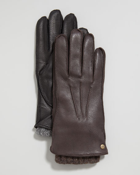 Two-in-One Whipstitch Gloves