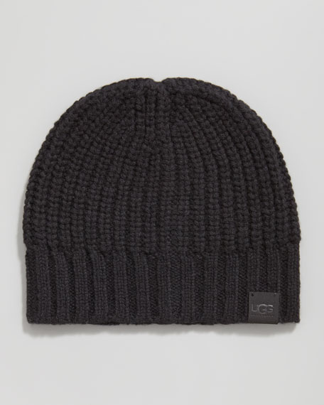 Knit Skull Cap, Black