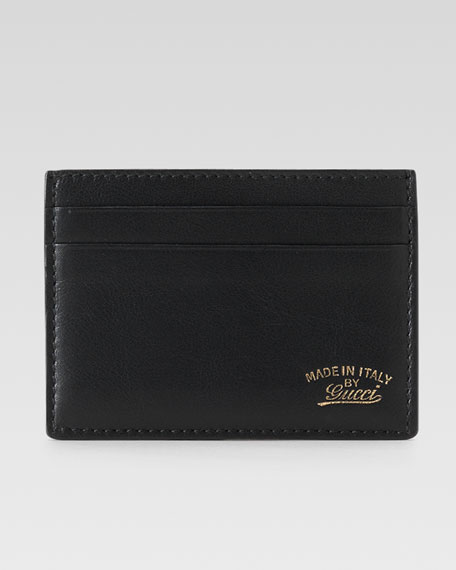 Crafty Leather Card Case