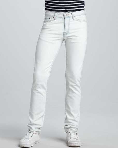 Slim Bleach Out Jeans
