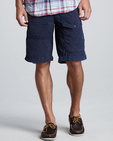 Poplin Cargo Shorts