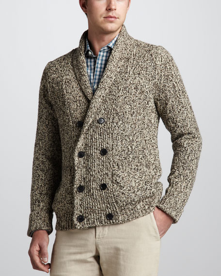Clayton Chunky Double-Breasted Cardigan