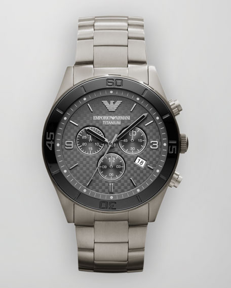 Sportivo Titanium Watch