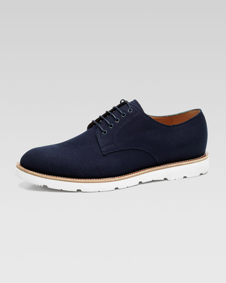 Joos Canvas Lace-Up, Blue