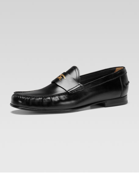 Uden Leather College Moccasin