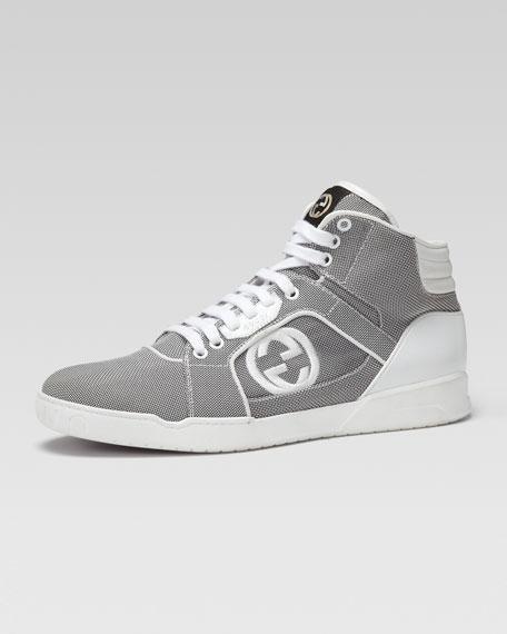 Gucci Rebound Mid High-Top Sneaker