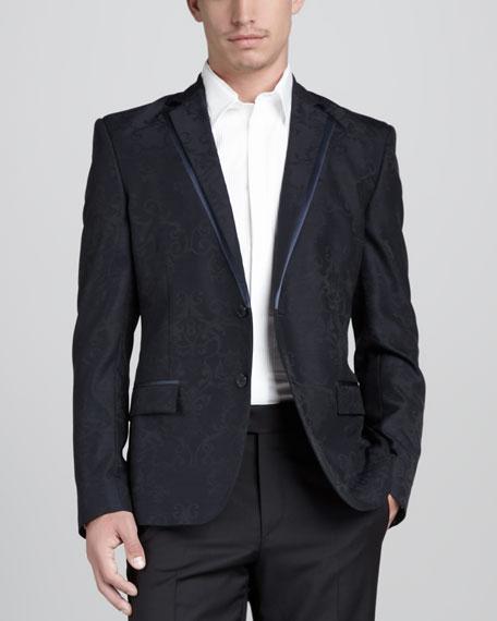 Jacquard Evening Jacket
