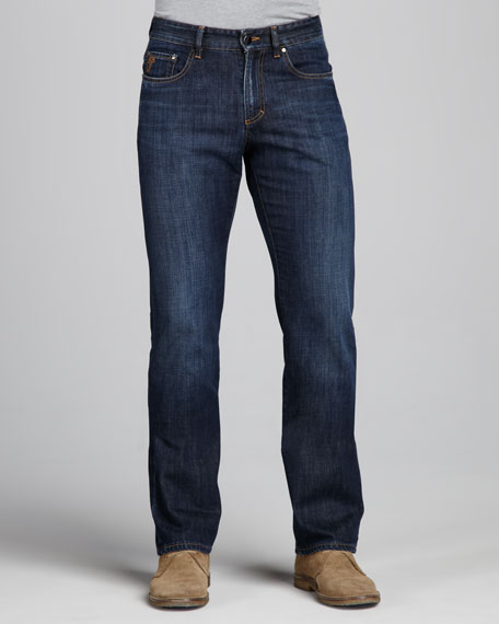 Dark-Wash Jeans