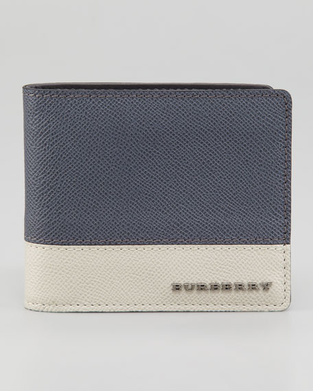 Tricolor Leather Wallet
