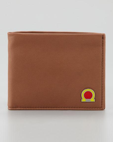 Tribute Gancini Wallet, Tan