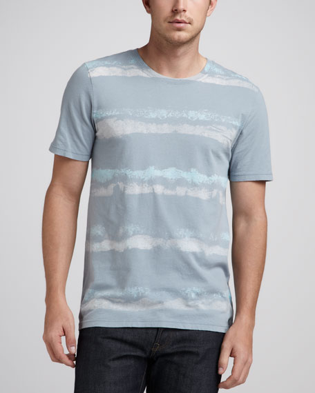 Faded-Stripe Tee